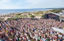 Musikevenemang i Halmstad sommaren 2018