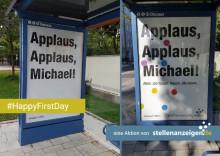 #HappyFirstDay: stellenanzeigen.de zelebriert den ersten Arbeitstag