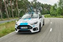 Ford forlænger sponsoratet med Team Sky - og tilføjer Focus RS til flåden af biler i Tour de France