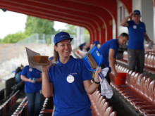 Von Tipi-Zelten und Sportabzeichen: Gemeinsam Gutes tun