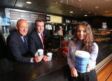 Coffee Hits the Charity Spot for Stena Line