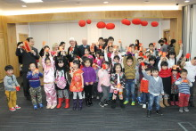 Local families Celebrate Chinese New Year in North Glasgow