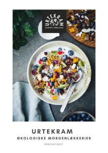 Stå op til økologiske morgenmadsfavoritter fra Urtekram
