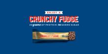 Barebells Xmas Fudge goes Crunchy Fudge