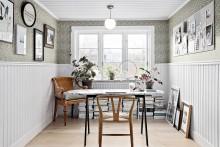 Inredningsbloggarens bästa tips: naturmaterial, våga tapet och kök som är mer än ett kök