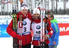 3 VM-konkurranser - 3 medaljer