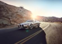 BMW Concept i4: En forsmak på 2021
