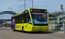 Electric buses to hit the streets of Newcastle and Gateshead