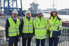 Havne drøftede havnelov og grøn omstilling med transportministeren