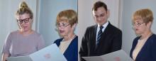 Eine neue Professorin und ein neuer Professor stärken Lehre und Forschung am Fachbereich Wirtschaft, Informatik, Recht (WIR)
