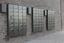 Renz postkasseanlæg i 3D format