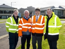 Bruce Crawford MSP connects with high-speed broadband