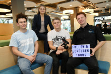 Three North East graduates, three successful businesses and one thing in common
