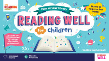 New collection of Reading Well for Children books in Bury's libraries