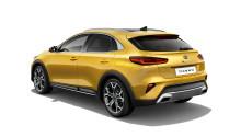 KIA XCeed – en urban crossover, som kombinerer de praktiske SUV-egenskaber med køreegenskaber og udseende som en sporty hatchback