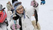90-åringar på friluftsdag