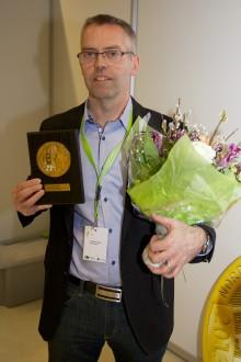 Nordbyggs guldmedalj för årets hetaste materialnyhet 2013 till 3M för ny supertejp