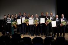Hållbara innovationer premierades under glädjefylld gala på Moderna Museet