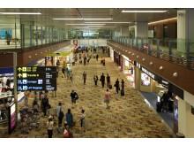 Terminal 1 departure transit mall
