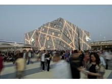 Svenska paviljongen, världsutställningen i Shanghai