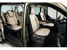 Ford Tourneo Custom, innvendig
