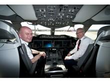 Boeing Dreamliner cockpit