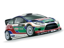 Fords helt nya rallybil, Fiesta RS World Rally Car premiärvisas - bild 1