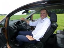 Nye adm dir. i Ford Motor Norge Steve Kimber har stor tro på nye B-MAX vil toppe salgsstatistikken i sin klasse.