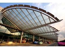 Terminal 2 facade (day)