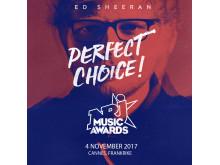 Ed Sheeran Insta Post