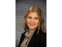 Gabrielle Legrand Gjerdset, styreleder i 2017.