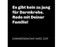 Darmkrebsmonat März 2019