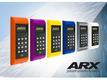 ASSA ARX säkerhetssystem Pando display