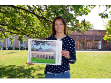 Anlässlich der Wiedereröffnung des Grassimuseums gibt die LVZ Post eine neue Sonderbriefmarke heraus