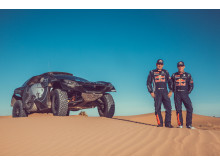 Rallykungen Sébastien Loeb kör Peugeot 2008 DKR i Dakar 2016
