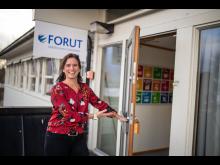Elisabeth Løvstad, sjef for FORUTs julebutikk