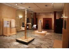 Ägyptisches Museum Leipzig - Blick in die Sonderausstellung Heliopolis