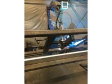 Ny robotsvets i produktionsanläggningen