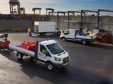 Fords 2-tons Transit får 10-trins automatgear