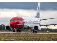 Norwegian's aircraft NGJ - Boeing 737-800