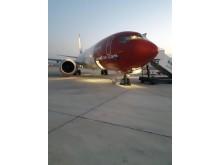 Boeing 737 MAX 8 (LN-BKE) en Shiraz 2