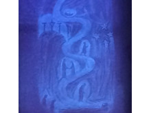 Glasfenster Violett Norden Ausschnitt_Assia Turgenieff nach Rudolf Steiner