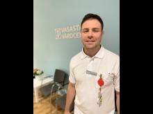 Jakob Nowakowski, specialist i allmänmedicin och verksamhetschef, Vasastans vårdcentral.
