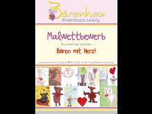 """Projekt Malwettbewerb: """"Bären mit Herz"""" zieren nun das Kinderhospiz Bärenherz"""