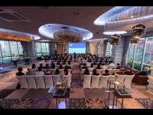 Fullsatt sal under Sjømatrådets seminar i Bangkok i  2019