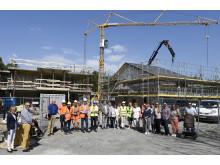 Brf Herrgårdsvägen i Hovås - stomvisning av nya bostadsrätter