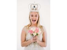Bridal headband featuring X1000V
