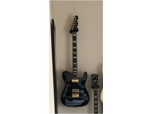 Stolen black customised Fender Telecaster