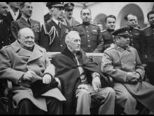 Franklin D. Roosevelt, på Jaltakonferensen