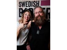 Carolina Carlén, Salong Karma, Borås med modell